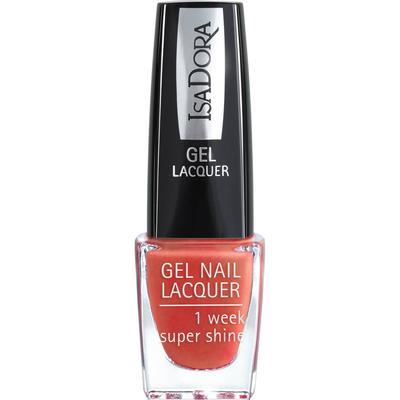 Isadora Gel Nail Lacquer Orange Deco 6ml