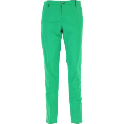 Kenzo Pants for Men On Sale, Green, Cotton, 2019, 30 34 36