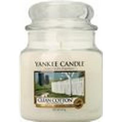 Yankee Candle Clean Cotton 411g Doftljus