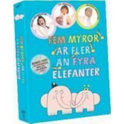 Fem Myror ÄR Fler ÄN Fyra Elefanter Box (DVD)