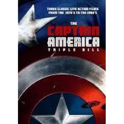 Captain America Triple Box Set (DVD)