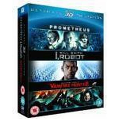 Prometheus / I Robot / Abraham Lincoln Vampire Hunter Triple (Blu-Ray)