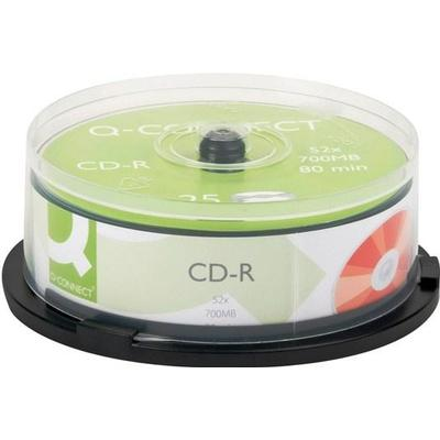Q-CONNECT CD-R 700MB 52x Spindle 25-Pack