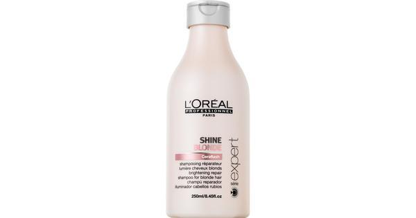 L'Oreal Paris Serie Expert Shine Blonde Shampoo 500 ml - Sammenlign priser & anmeldelser på PriceRunner Danmark
