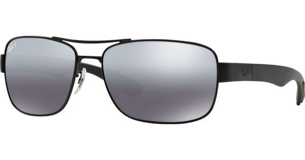 RAY BAN RAY-BAN Herren Sonnenbrille » RB3522«, schwarz, 006/82 - schwarz/silber