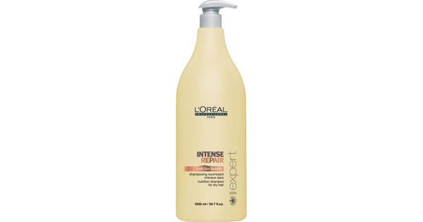 L'Oreal Paris Intense Repair Shampoo 1500 ml - Sammenlign priser & anmeldelser på PriceRunner Danmark