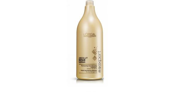 L'Oreal Paris Serie Expert Absolut Repair Lipidium Shampoo 1500ml - Sammenlign priser & anmeldelser på PriceRunner Danmark