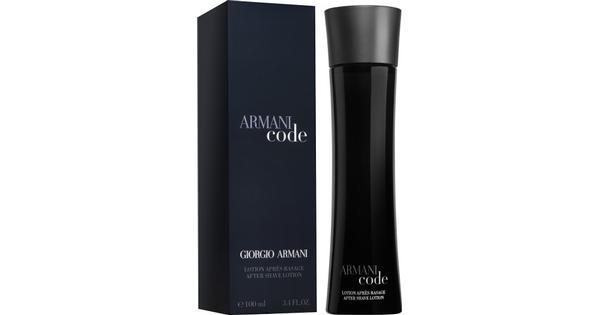 Markenqualität Suche nach Beamten günstig Giorgio Armani Code After Shave Lotion 100ml - Preisvergleich und Tests -  PriceRunner Deutschland