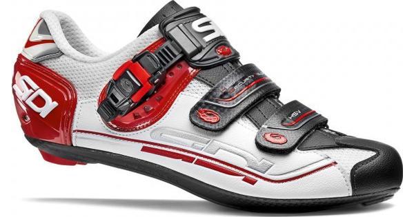 Sidi Genius 7 Weiß schwarz rot Sportschuhe Weiß Schwarz Rot