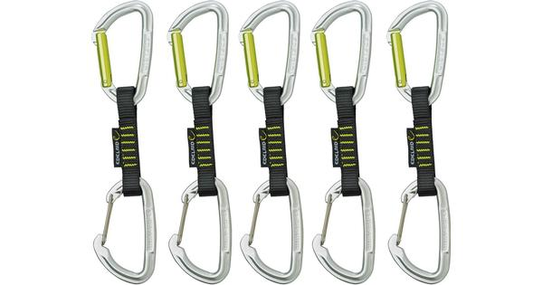Kletterausrüstung Edelrid : Edelrid slash wire set quickdraw cm pack preisvergleich und