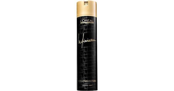 L'Oreal Paris Infinium Soft Hairspray 500ml - Sammenlign priser & anmeldelser på PriceRunner Danmark