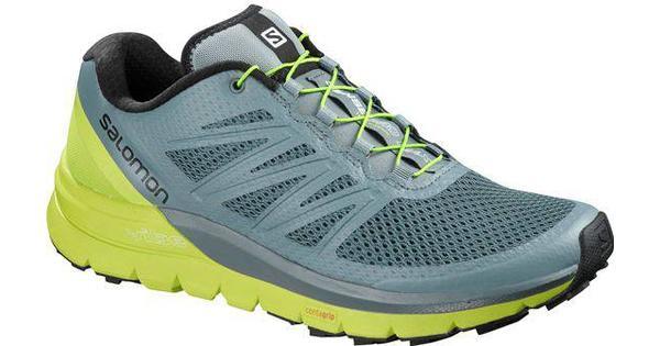 Salomon Sense Pro Max (402411) Sportschuhe Trailrunning Trailrunning Sportschuhe Schuhe Gelb Grau 5f8ab4