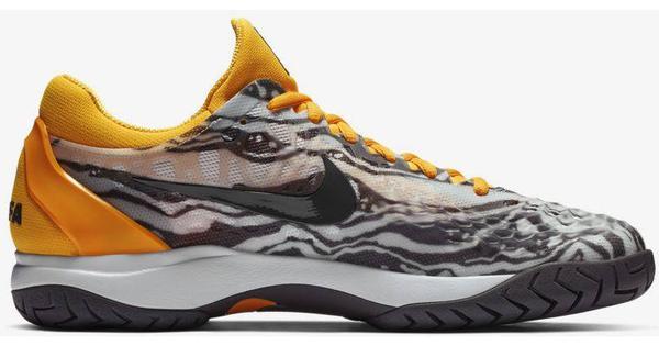 Nike Court Court Court Zoom Cage 3 (918193-008) Sportschuhe Weiß Orange Grau 7f6492