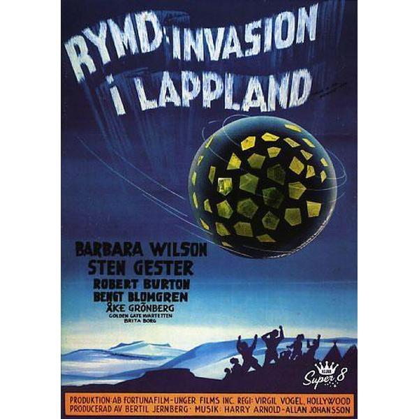Rymdinvasion i Lappland (DVD 1959)