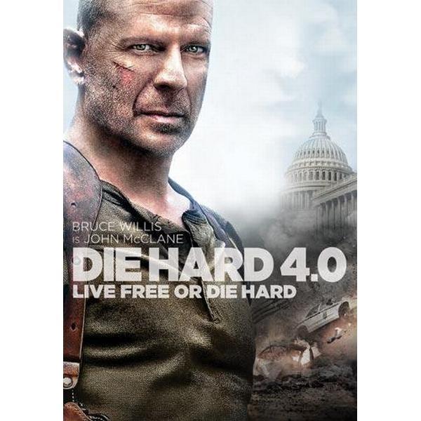 Die hard 4 (Nyrelease) (DVD 2013)