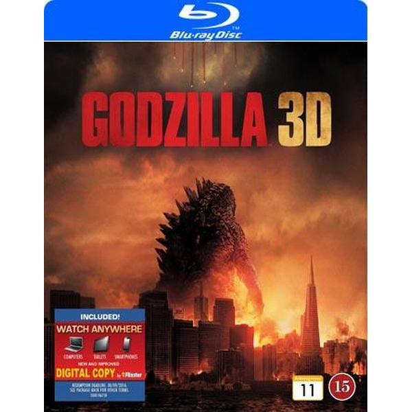 Godzilla 3D (2014) (3D Blu-Ray 2014)