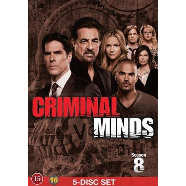 Criminal Minds: Säsong 8 (6DVD) (DVD 2013)