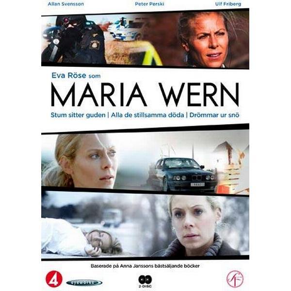 Maria Wern vol 1 - 3 filmer (2DVD) (DVD 2011)