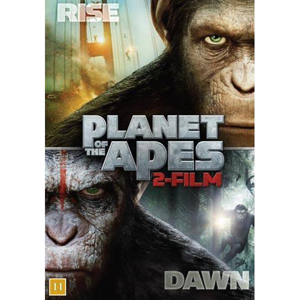 Rise to the dawn - Apornas planet x 2 (DVD 2014)