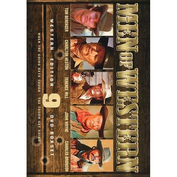 Men of western - Western edition - 9 filmer (9DVD) (DVD 2014)