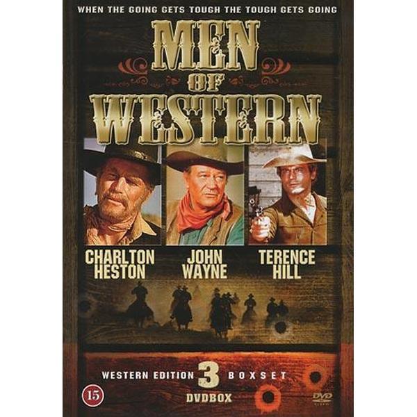 Men of western - Western heroes vol 1 (3DVD) (DVD 2014)