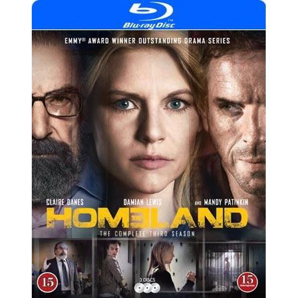 Homeland: Säsong 3 (3Blu-ray) (Blu-Ray 2013)