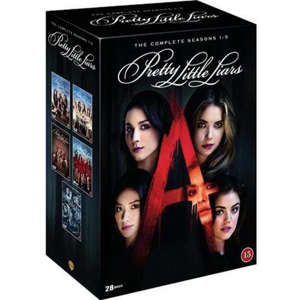Pretty little liars: Säsong 1-5 (DVD 2015)