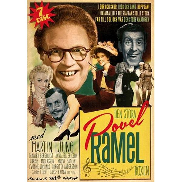 Den stora Povel Ramel boxen (DVD 1953-1958)