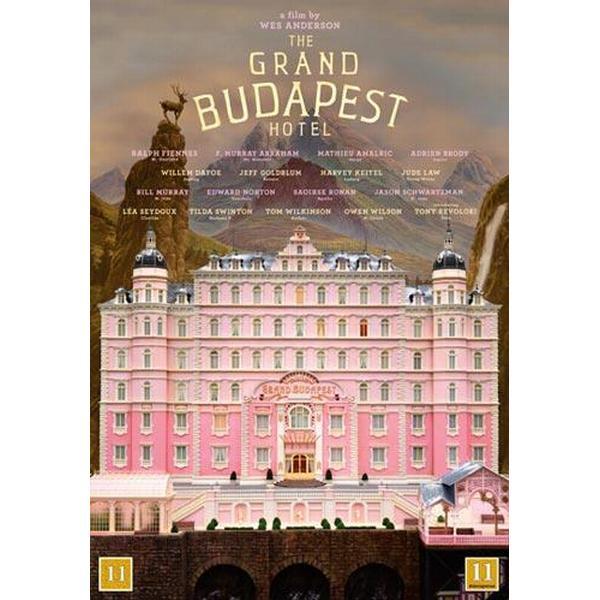 Grand Budapest Hotel (DVD 2014)