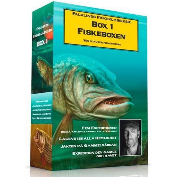 Fiskeboxen vol 1 (4DVD) (DVD 2013)