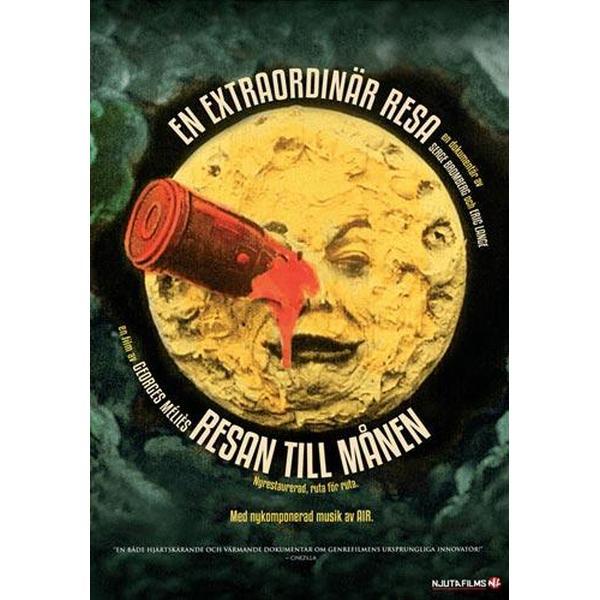 Extraordinary Voyage + Resan till månen (DVD 2014)