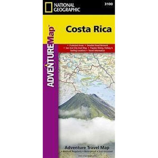 National Geographic Adventure Map Costa Rica (Pocket, 2010)