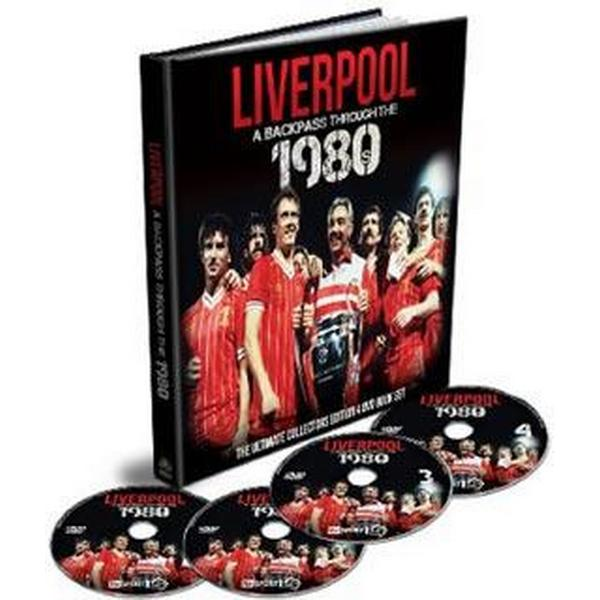 Liverpool: A backpass through the 1980's (4DVD + Bok) (DVD 2015)