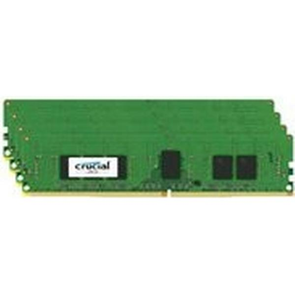 Crucial DDR4 2133MHz 4 x 4GB ECC Reg (CT4K4G4RFS8213)
