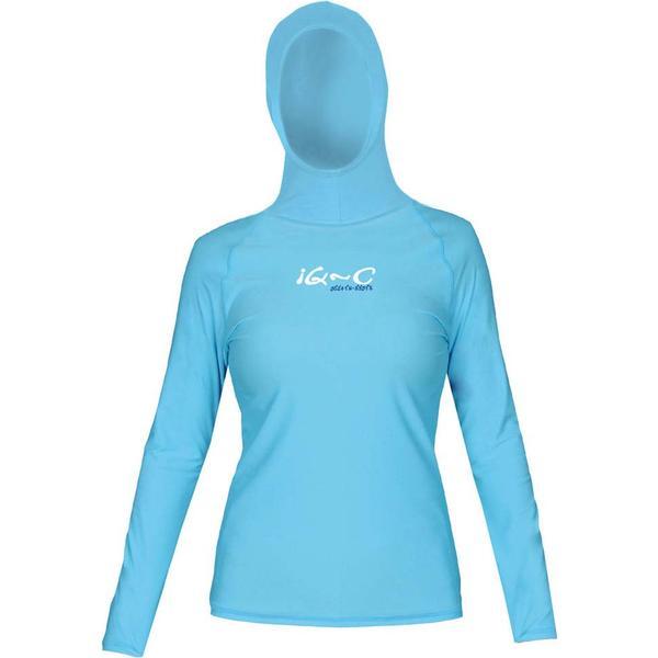 iQ-Company UV 300 Full Sleeves with Hood Top W