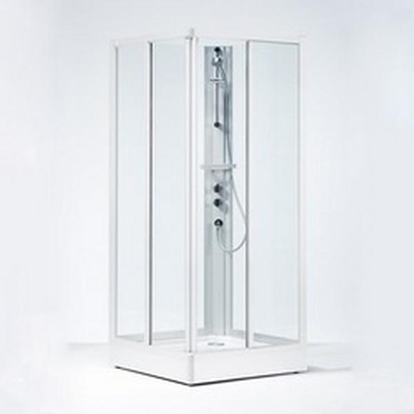 Ifö Solid SKH Art Lyx Brusekabine 800x800mm