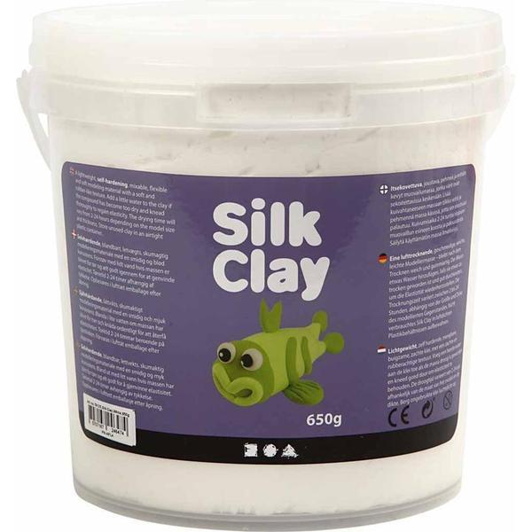 Silk Clay White Clay 650g