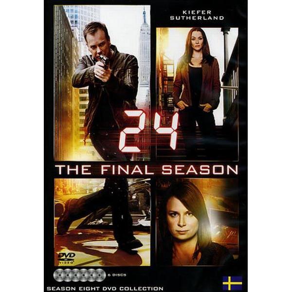 24 - Säsong 8 (DVD 2010)
