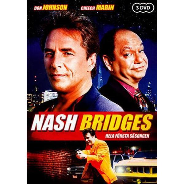 Nash Bridges: Säsong 1 (DVD 2010)