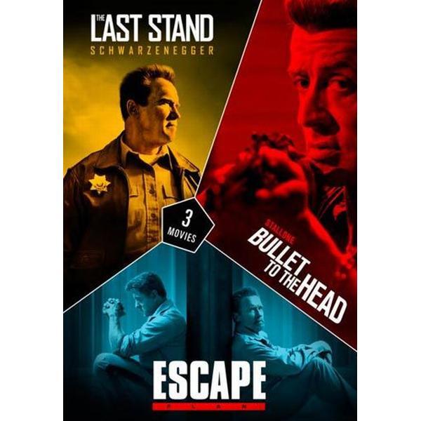 Stallone & Schwarzenegger box - 3 filmer (DVD 2012-2013)