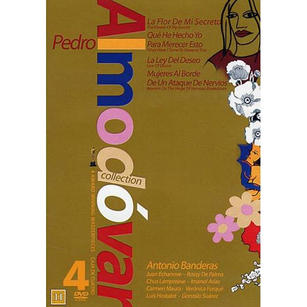 Pedro Almodovar 4-film collection - Brun (4DVD) (DVD 2015)