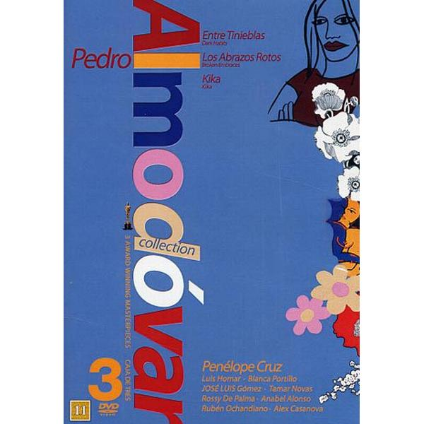 Pedro Almodovar 3-film collection - Blå (3DVD) (DVD 2015)