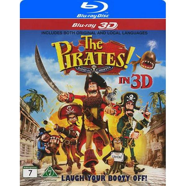 Piraterna 3D (Blu-ray 3D) (3D Blu-Ray 2012)