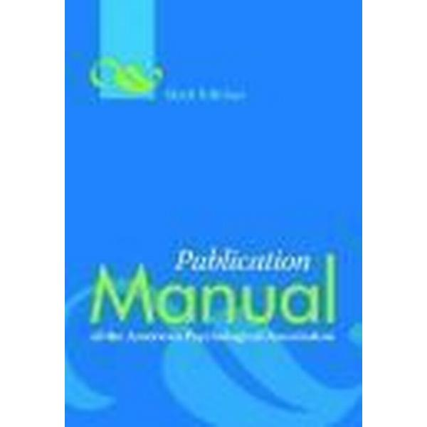 Publication Manual of the American Psychological Association (Inbunden, 2009)