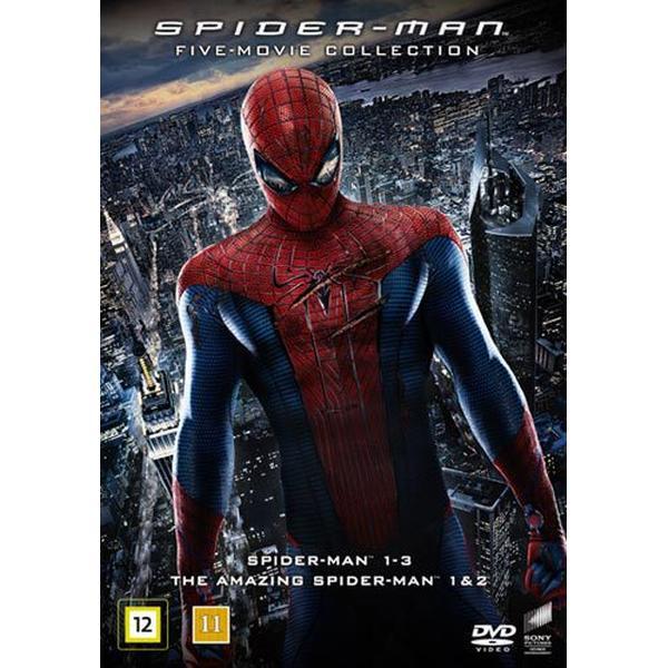 Spider-Man 5-movie collection (5DVD) (DVD 2016)