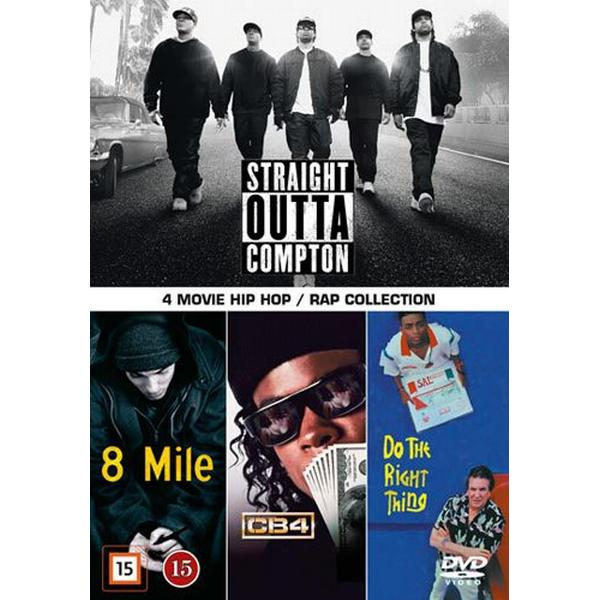 4 movie Hip-Hop: Rap collection (4DVD) (DVD 2015)