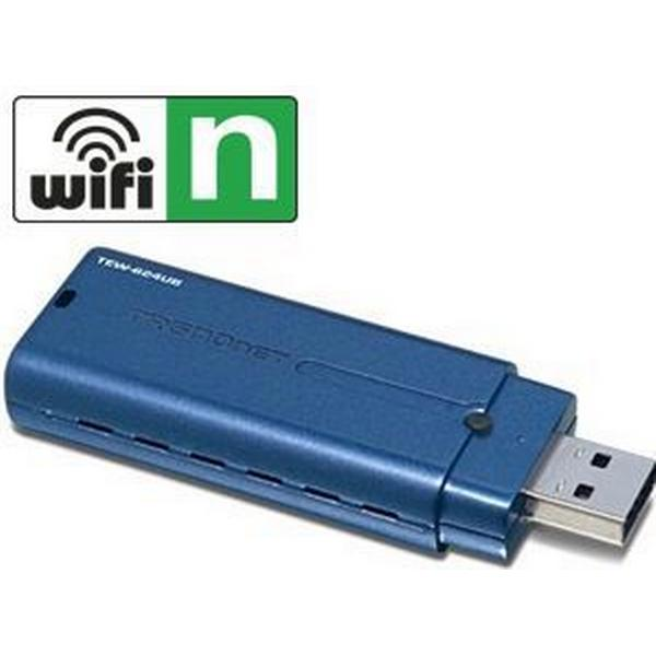 Trendnet 300Mbps Wireless N USB 2.0 Adapter (TEW-624UB)