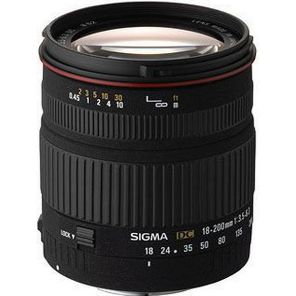 Sigma 18-200mm F3.5-6.3 DC For Nikon AF