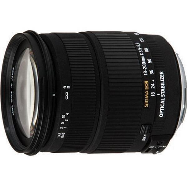 Sigma 18-200mm F3.5-6.3 DC Macro OS HSM C for Sony