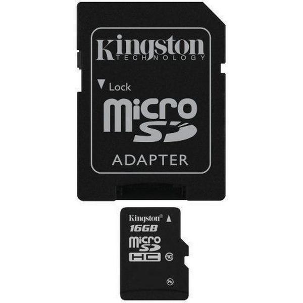 Kingston MicroSDHC Class 10 16GB